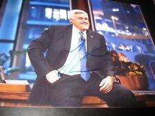JAY LENO SIGNED AUTOGRAPH 8x10 PHOTO THE TONIGHT SHOW PROMO LATE NIGHT COA NY E