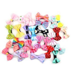 10Pcs/lot Cute bowknot hair clip Headwear Baby Ribbon Bow Kids Baby Girls