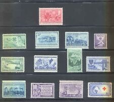 US 1952 Commemorative s Year Set with 13 Stamps MNH