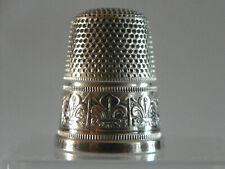 Dé à coudre en argent Ancien / silver thimble/ Fingerhut silber