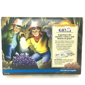 New Discovery Collections GEMS Educational Insights 12 Specimens Rocks Vintage