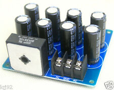 Power Supply Filtered Rectified Components for TDA8920/LM3886 Amplifier Board