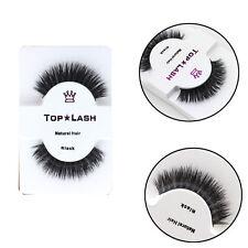 100%Real Mink Natural Thick False Eyelashes Eye Lashes Makeup Extension Beauty