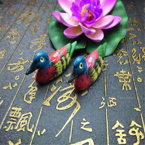 2pcs Mandarin Duck Chopsticks Rest Stand Spoon Fork Holder Kitchen Decor Cute
