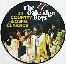 THE OAKRIDGE BOYS  - 20 COUNTRY GOSPEL CLASSICS Picture Disc LP