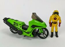 Kenner M.A.S.K. Condor motorcycle 100% Complete toy w/ Brad Turner