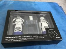 New,Mens Star Wars Storm Trooper Fragrance Set  - After Shave, Body Wash & Scent