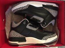 Air Jordan 3 Retro Black Cement 2011 Size US8