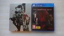 Metal Gear Solid V The Phantom Pain PS4 GAME & Collectors Edition Steelbook PS4
