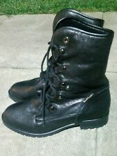 Russell and Bromley lace up Boots Size 5 in colour black,brand new,rrp £225.