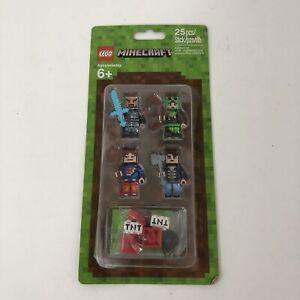 LEGO Minecraft - 853609 - Skin Pack Accessory Set- NEW - SEALED