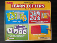 Lakeshore Learning Learn Letters Activity Kit