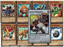 Accel Synchron 9-Card Set Junk, Fleur, Quickdraw, Unknown, Explorer,Turbo, Drill