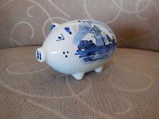 DELFT Art Pottery Piggy Bank