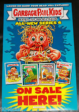 WOW GARBAGE PAIL KIDS ANS6 ON SALE HERE POSTER NO FOLDS