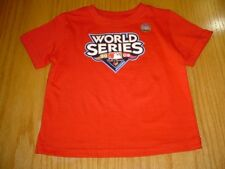 NEW  MLB WORLD SERIES PHILLIES RED T-SHIRT INFANT BOYS 18 MO COTTON