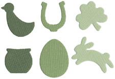 QuicKutz Lifestyle Crafts Mini Cutting Die Set SPRING SHAPES Season ~CC-SHAPE-05