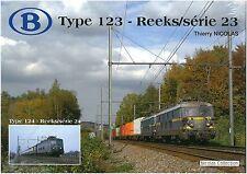 Nicolascollection 978-2-930748-06-1 libro SNCB NMBS Type 123-Reeks/Série 23 NUOVO + OVP
