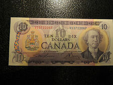 1971 BANK OF CANADA $ 10 TEN DOLLARS LAWSON BOUEY VS 2722047 BC-49c