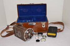 Vintage Bell & Howell Filmo Auto Master 16mm Film Magazine Movie Camera w/case