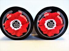 The Body Shop SMOKY POPPY Poppy Seed Scrub, 7.9 oz/200 g, NEW x 2