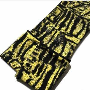 Nike x ACG Printed Run Midweight Running Arm Sleeves  L/XL Run Yellow Black $50