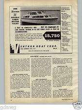 1968 PAPER AD 31' Ventnor Yacht Double Cabin Fly Bridge Motor Boat Egg Harbor NJ