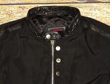 NEW DIESEL J-Arthur-L Jacket Black Size Large Slim NWT Made in India $498.00