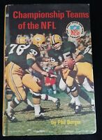Championship Teams of the NFL by Phil Berger (1968, Hardcover)