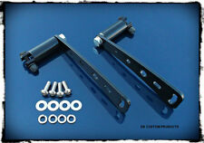 Stealth Adjustable Highway Peg Mounting Kit - Sano Black