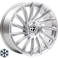 "4x Tomason TN16 8,5x19"" 5x112 ET45 ML72,6 bright silver Audi Seat Skoda VW Benz"