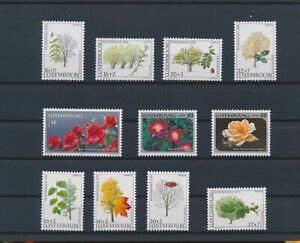 LO16746 Luxembourg plants flora nature trees fine lot MNH