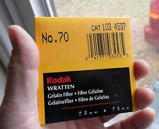 "Best FILTER for INFRARED IR film NEW-SEALED Wratten 70 3x3"" long pass"