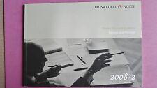 (R9_4) Hauswedell & Nolte. Rückschau und Ausblick. Review and Preview- 2008/2