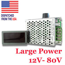 Dc 12 80v 30a Digital Display Led Pwm Hho Rc Motor Speed Regulator Controller