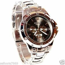 Rosra Chronograph Styled Analog Wrist Watch For Men Black Dial In BOX PACKING
