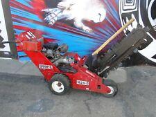 Barreto 1624D Hydraulic Walk Behind Trencher Digger 16hp Briggs Motor