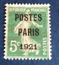 Preos Poste Paris 21 Oblitéré TB Centrage Et Qualité