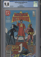 BATMAN AND THE OUTSIDERS #15 MT 9.8 CGC HIGHEST 1 OF 1 CANADIAN EDITION APARO CO