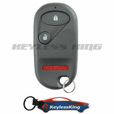 Replacement for 2001 2002 2003-2005 Honda Civic Ex Key Fob Keyless Car Remote