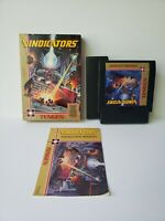 VINDICATORS NES NINTENDO VIDEO GAME TENGEN COMPLETE CIB GREAT CONDITION