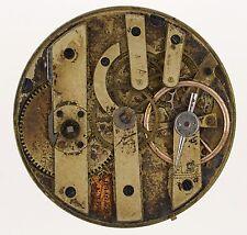 Lagier GENEVE SWISS CILINDRO Pocketwatch movimento RICAMBI e riparazioni R253