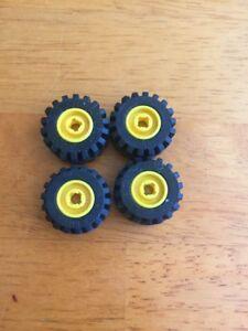 Lego Wheel Part 6014 X4 Yellow