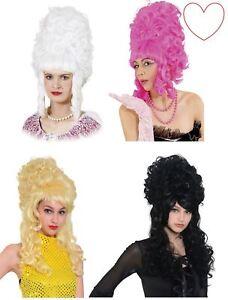 Ladies Panto Wigs Beehive Fancy Dress Accessory