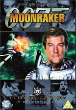 James Bond Moonraker Ultimate Edition (DVD, 2006, 2-Disc Set) FREE SHIPPING