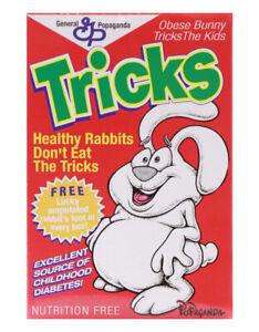 "Popaganda Ron English Cereal Killers TRICKS THE RABBIT 3"" Vinyl Figure"