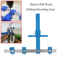 40cm Drill Guide Sleeve Cabinet Hardware Jig Drawer Pull Wood Drilling Dowelling