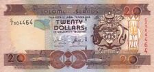 Billet banque SOLOMON ISLANDS ILES SALOMON 20 $ NEUF NEW UNC