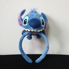 Disney  headband Tokyo Disney Resort  Stitch Plush Doll Ears Hat Japan F/S