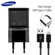 Certified Original Samsung Galaxy S8 Fast Charching Cable + Wall Charger